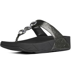 FitFlop™ Petra Pewter | BeautyFeatures