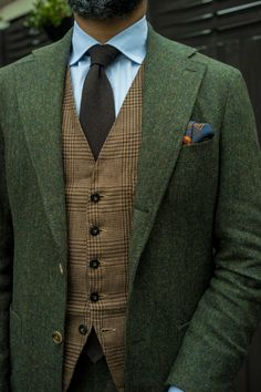 "gezzasmenswear: ""Feeling tweedy """