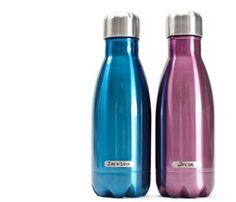 Lunchbox S'well - a double-layer stainless steel water bottle keeps your drink icy cold for 24 hours! $25
