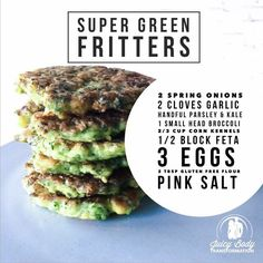 Super Green Fritters!