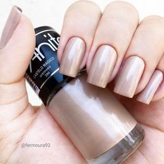Ideas for diy makeup lighting hair colors Pretty Nail Colors, Pretty Nails, Fabulous Nails, Perfect Nails, Nail Paint Shades, Manicure E Pedicure, Chrome Nails, Beautiful Nail Designs, White Nails