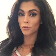 Domino Presley XxX (dominopresley): #transgender #girlslikeus #makeup #hair