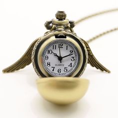 Fashion Golden Snitch Watch Pendant (Harry Potter) – Big Star Trading Store