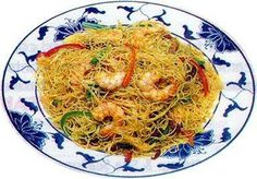 Singapore Rice Noodles from Food.com: This popular rice noodle dish has moved up the Malay peninsula to China and became an important part of Chinese cuisine. Make sure all the ingredients are prepped before you start to cook. This recipe is very authentic!