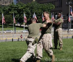 Martial Arts Demonstration at Marine Week-St. Louis.      right here at Fredericksburg Martial Arts School http://www.shaolinkungfucenter.com