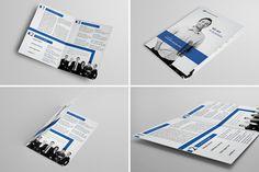 Brochure template #design | via http://www.behance.net/gallery/Bi-Fold-Brochure-6/10564733