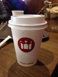 Holly coffee#Korea#latte