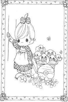 Visit Precious Moments Coloring Pages