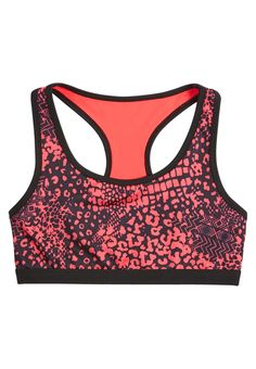 Animal Print Sports Bra (original price, $17.90) available at #Justice