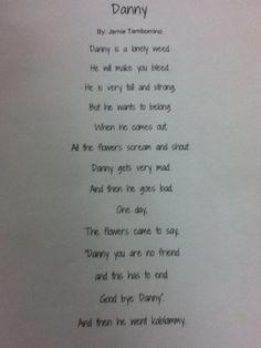 Danny(Tim Burton Poem)