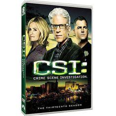 'CSI: Crime Scene Investigation - The Thirteenth Season' arrives on DVD on Tuesday, September 17, 2013. Cast: Ted Danson, Elisabeth Shue, Eric Szmanda, George Eads, Paul Guilfoyle, Wallace Langham, Jorja Fox, Robert David Hall, Gary Sinise