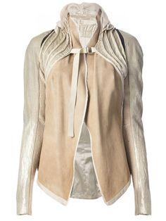 Rick Owens Vintage Strap Fastening Panelled Jacket - Penelope - Farfetch.com
