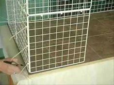 How to Build a Rabbit Condo - YouTube