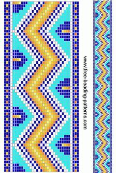 free beading patterns   free-beading-pattern-guitar-strap-village-sunny