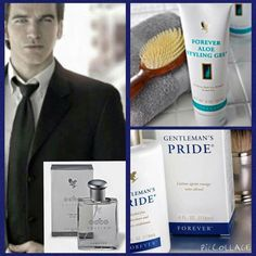 Treat a man for Christmas Aftershave balm - alcohol free, soothes and calms irritation. The aftershave smells woody and fresh. Aloe Styling gel - alcohol free, humidity-resistant hair gel, optimum holding power no stickiness, shiny strong and healthy. www.aloeflproducts.com