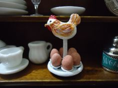miniature egg holder by MINISSU on Etsy, $4.99
