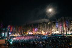 Snow Globe. Lake Tahoe NYE party
