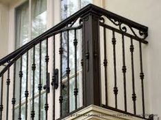 Image result for ornamental cast iron balcony