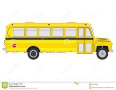 Images For > Short School Bus Clip Art