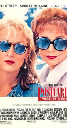 Directed by Mike Nichols.  With Meryl Streep, Shirley MacLaine, Dennis Quaid, Gene Hackman. A substance-addicted actress tries to look on the bright side even as she is forced to move back in with her mother to avoid unemployment.