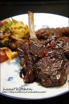 ローズマリー香る♪ 骨付きラム肉のグリルのレシピ。 by はなこさん ...