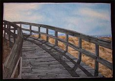 'Milford Point,' by Kathleen Burns of Stratford, Conn., is a landscape art quilt. It depicts a wooden walkway at the beach. The Lowell Quilt Festival is today through Sunday. For more information, go to http://www.lowellquiltfestival.org .