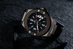 Dwiss Emme - SILVER BLACK Wolf Design, Wood Watch, Smart Watch, Swiss Watch, Watches, Luxury, Model, Contemporary, Accessories