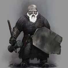 Dwarf cleric or fighter - Character Portraits : Photo