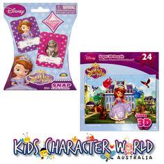 Princess Sofia Super 3D Jigsaw Puzzle & Snap Card Game $23.95 (eBay Store: kidscharacterworld2013 email:  kidscharacterworld@live.com.au) http://www.ebay.com.au/itm/Princess-Sofia-Jigsaw-Puzzle-24Pc-3D-Snap-Card-Game-New-Kids-Girl-Licensed-NIB-/171494422099?pt=AU_Toys_Hobbies_Puzzles&hash=item27eddd3653