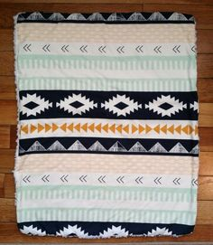 Plush Baby Blanket April Rhodes Arizonia , $25.00