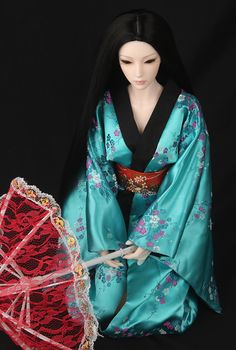 BJD Clothes Bjd 1/3 Doll Clothes Plum Flower Kimono  Doll Accessories Free Shipping US $52.02