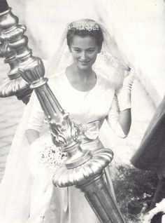 The Royal Watcher:  Princess Paola of Belgium on her wedding day 1959