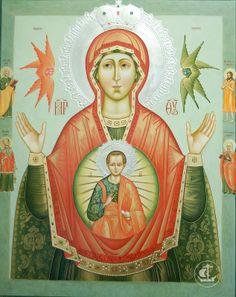Икона Божией Матери «Знамение» Царскосельская
