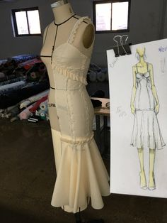 Shop online for awesome Dance Dresses Fashion Sewing, Diy Fashion, Origami Fashion, Fashion Details, Draping Techniques, Costura Fashion, Pattern Draping, Illustration Mode, Dress Making Patterns
