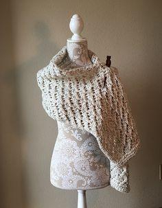 Ravelry: Lace Shawl pattern by Dayna Scoles