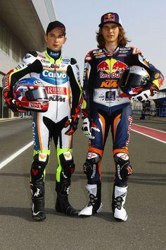 Jakub Kornfeil   Moto GP with Karel Hanika