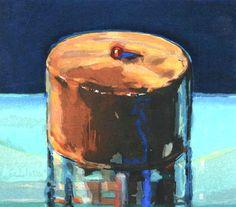 Wayne Thiebaud, Dark Cake, 1983