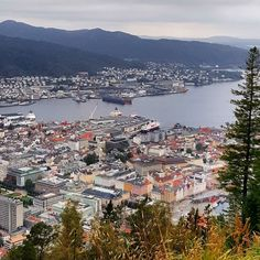 Bergen Norway's Second City and the Gateway to the Fjords. Photo by @andrianneskjold on Instagram.