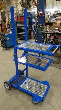 Dan's Custom Welding Tables - Gibbon, MN - High Quality Welding Tables - Welder Carts