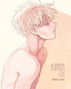 Albino Levi <<< MAKE IT ALL ALBINO! MAKE ZE VORLD ALBINO! KESESESESESE~<< MY TWO FAVOURITE PEOPLE IN THE UNIVERSE