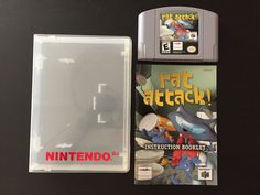 Rat Attack (Nintendo 64, N64) Cart Instruction Manual & Case Free 2 Day Shipping: $74.99 End Date: Wednesday Nov-22-2017 14:15:20 PST Buy…