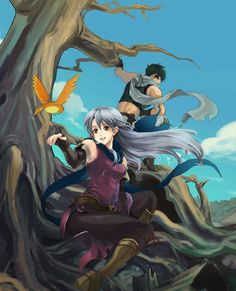 Sothe and Micaiah - Fire Emblem Path of Radiance