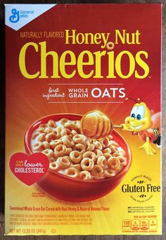 Honey Nut Cheerios are now gluten free - EXACT SAME GREAT TASTE! This is a real breakthrough!