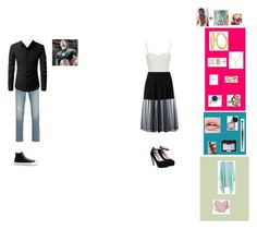 """""""A Date With Steve"""" by tayloranna-stone ❤ liked on Polyvore featuring sass & bide, Givenchy, Vintage, Alex and Ani, Chanel, Victoria's Secret, NARS Cosmetics, Armani Jeans, Converse and theavengers"""