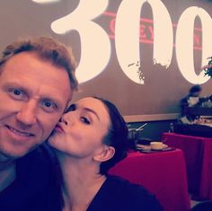 Caterina Scorsone / Kevin McKidd Amelia And Owen, Caterina Scorsone, Kevin Mckidd, You Changed My Life, Greys Anatomy Cast, Living Without You, Best Friendship, Fangirl, Tv Shows