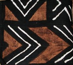 African Fabric Pattern - Mudcloth