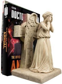 Doctor Who Weeping Angel Bookend (Australia) – Merchandise Guide - The Doctor Who Site