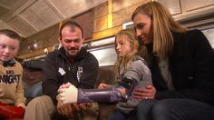 """As part of TODAY's """"Season of Kindness,"""" NBC's Kerry Sanders introduces us to some kids who are getting robotic arms for Christmas at an extreme discount."""