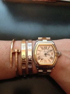 What other arm Candy do U stack w/ your Cartier Love Bracelet? - Page 4 - PurseForum