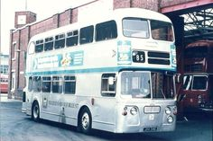 COLOUR BUS PHOTO - MIDLAND RED 6054 | eBay Blue Bus, Red Bus, Double Decker Bus, Bus Coach, Busses, Leicester, Public Transport, Vintage Cars, Transportation